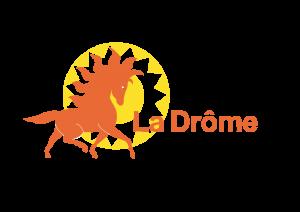 Logo drome a cheval